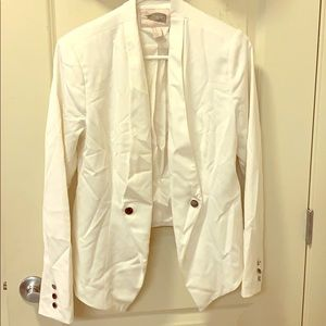 Tops - White blazer